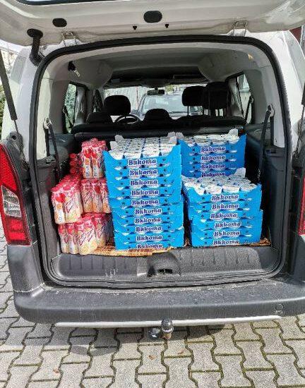 7.10.2020 r. - Pomoc rzeczowa od Banku Żywności w Tarnobrzegu