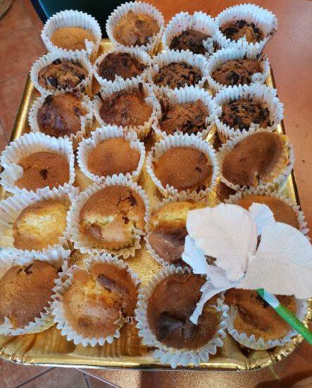 Pieczenie babeczek w ramach treningu kulinarnego
